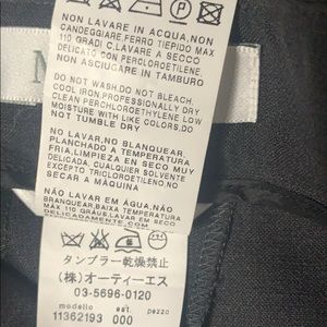 MaxMara Pants & Jumpsuits - MaxMara Charcoal Ladies Dress Pants in EUC size 36